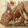 En köttig och blodtörstig varelse på fyra ben